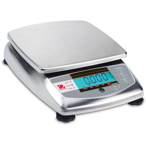 Ohaus FD3 Portion Control Scale Legal for Trade, 6 lb x 0.001 lb