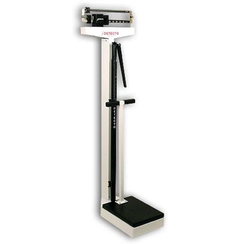 Detecto 449 Mechanical Medical Scale With Handle 400 Lb X