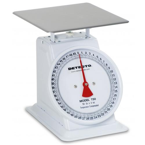 Detecto T-5 Top Loading Dial Scale, 5 lb x 1/2 oz