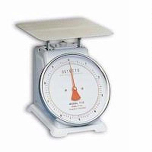 Detecto T-5-S Top Loading Dial Scale, 5 lb x 1/2 oz, Stainless