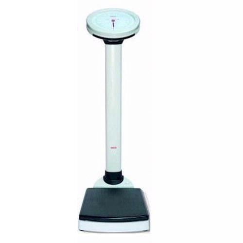 Seca 755 Dial Column Medical Scale with BMI and Height Rod, 350 x 1 lb