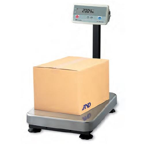 AND Weighing FG-200KAL Platform Scale, 400 x 0.02 lb, non-NTEP