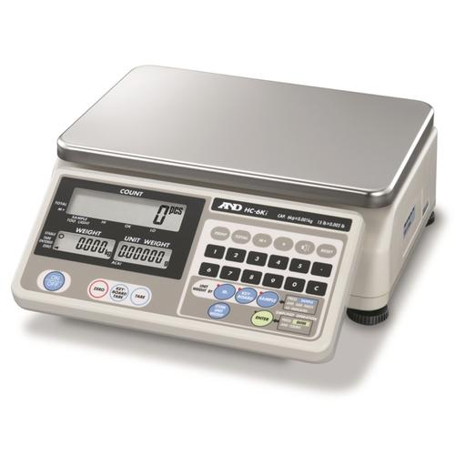 AND Weighing HC-6Ki Counting Scale, 15 x 0.002 lb