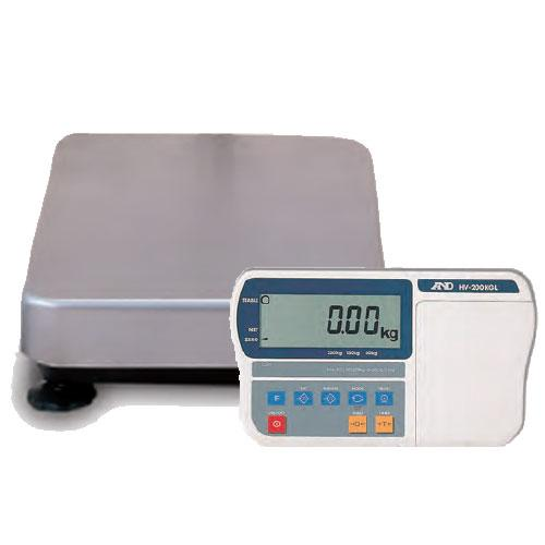 AND Weighing HV-15KGL-NC, 6-15-30 lb without Column, LCD