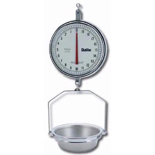 Chatillon 8230dd T As Mechanical Hanging 13 Inch Scale With Pan Double