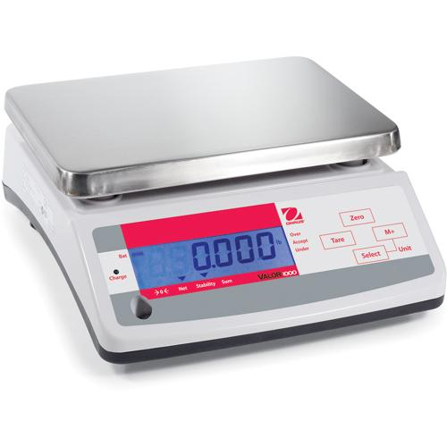 Ohaus V11P30 Valor 1000 Economical Portioning Scale, 66 x 0.02 lb