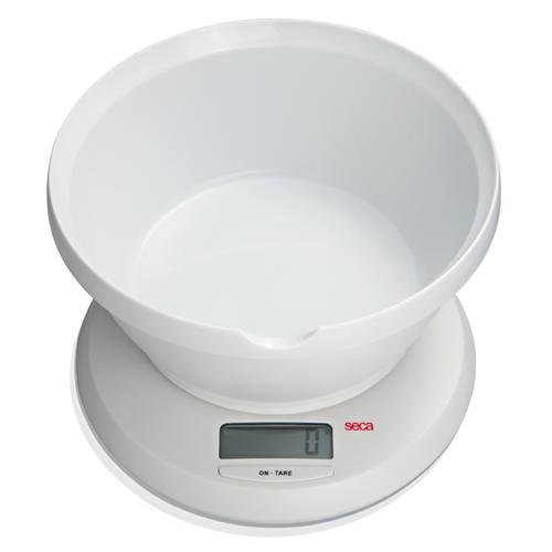 Seca 852 Culina Diet Scale with Bowl, 6.6 lb x 0.05 oz