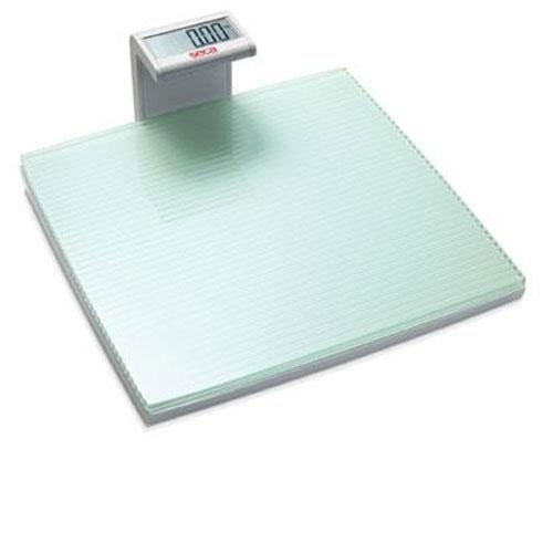 Seca 817 Marina Digital Floor Scale with Grooved Glass Plate Platform, 400 x 0.2 lb