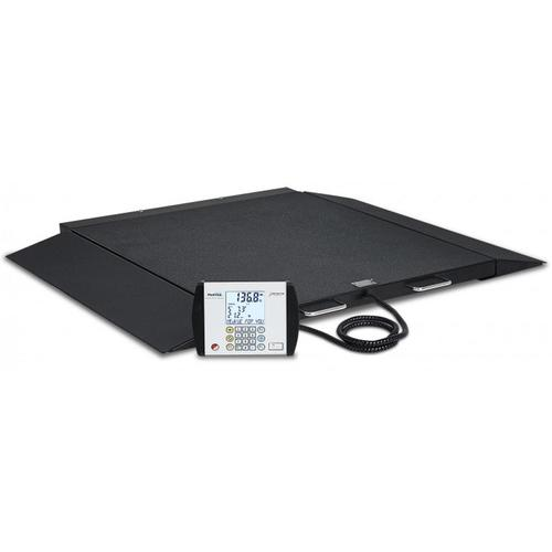 Detecto 6500 Portable Wheelchair Scale 32 in x 36 in - 1000 lb x 0.2 lb