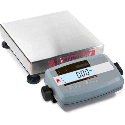 Ohaus D51P50QL5 Defender 5000 Low Profile Legal for Trade Scales Square,100lb X 0.01lb