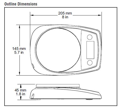 gram scale diagram