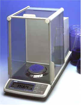 Full featured electronic analytical scales perfect for laboratory or industrial weighing. Features include auto self-calibration, GLP, GMP, and ISO calibration.