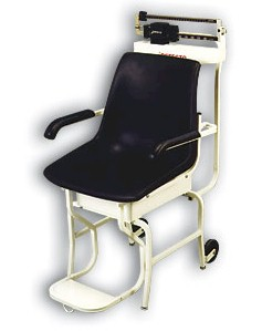 The Detecto 475 mechanical chair scale is reliably built for patients with special health care problems. Sturdy construction combines with time-saving design features in the most functional chair scales available anywhere. With heavy-duty understructure, these Detecto medical scales come fully assembled and ready to use.  - Detecto medical scales are made in the USA