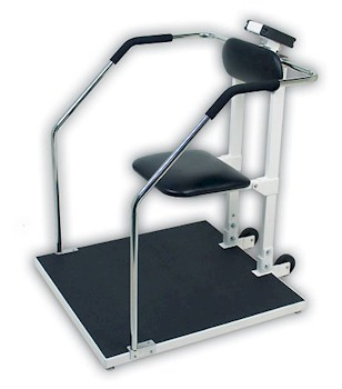 Detecto 6868 Combo Handrail Scale / Chair Scale