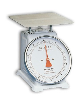 Detecto T-Series Large Toploading Mechanical Dial Scales