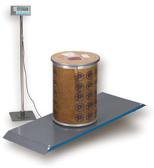 Salter Brecknell PS-1000 Floor Scales / Veterinary Scales